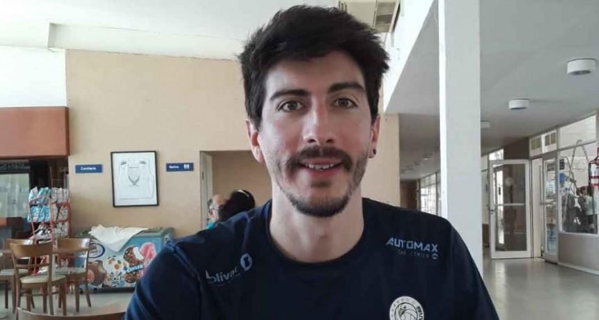 Nicolás Uriarte: 'Uno siempre trata de poner el máximo por el equipo para el que juega'
