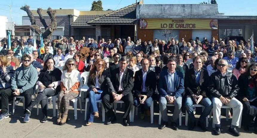 El Intendente Pisano participó de la inauguración del Centro Cultural Jorge Cortés