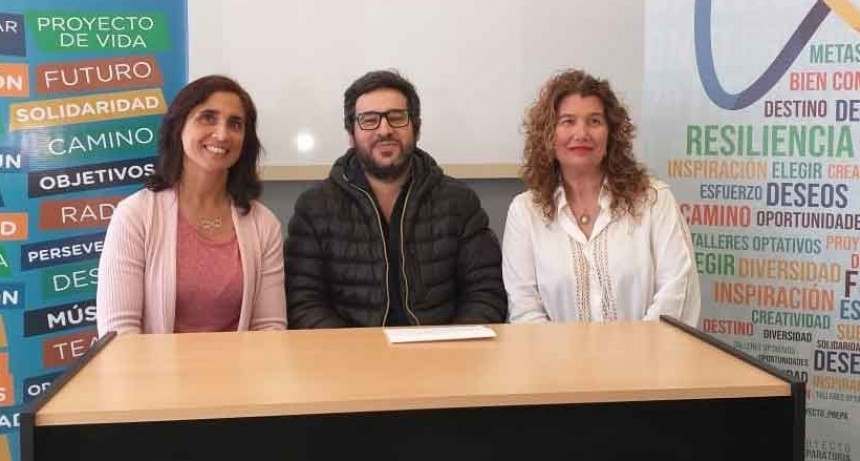 En el marco del Proyecto Preparatoria Sergio Feferovich brindará una charla motivacional