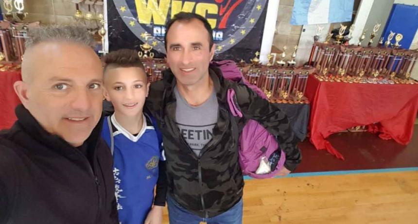 Juan Cruz Larrinaga obtuvo el 2º puesto en la Copa Kempo 2018 Internacional