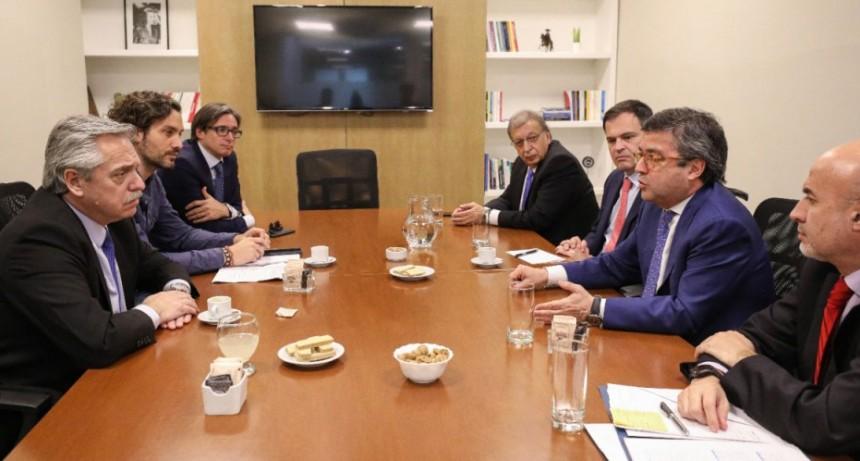 Alberto Fernández recibió al Banco Interamericano de Desarrollo