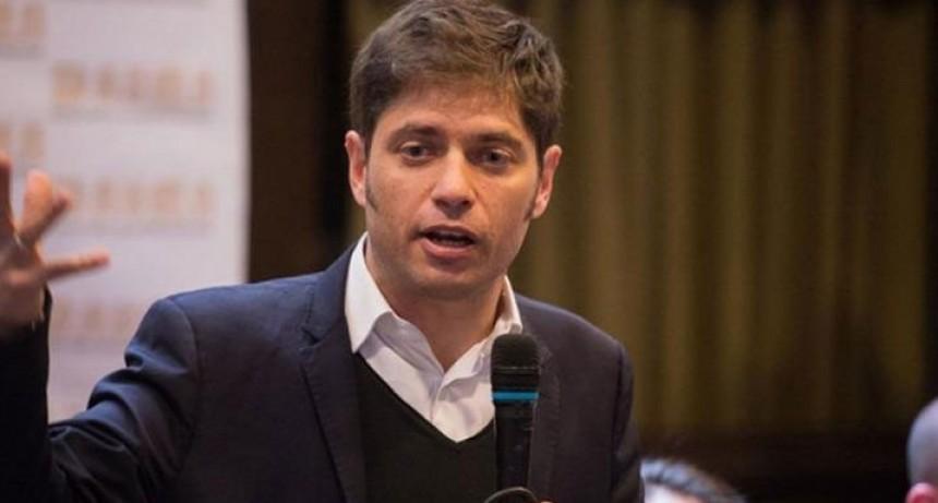 Axel Kicillof: 'Tenemos que trabajar para recuperar la tranquilidad y la dignidad de la gente'