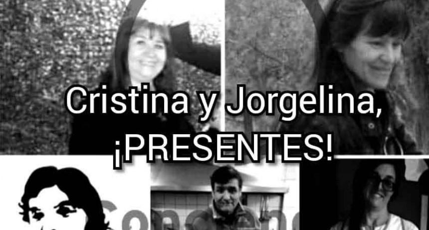La educación está de luto; Cristina y Jorgelina siempre presentes