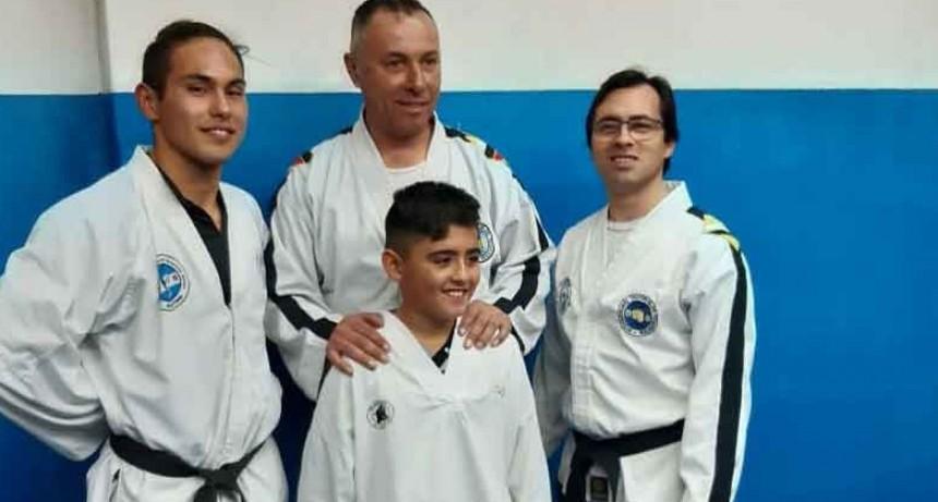 Fin de semana cargado de actividades para la escuela de Taekwondo de Jorge Ruiz