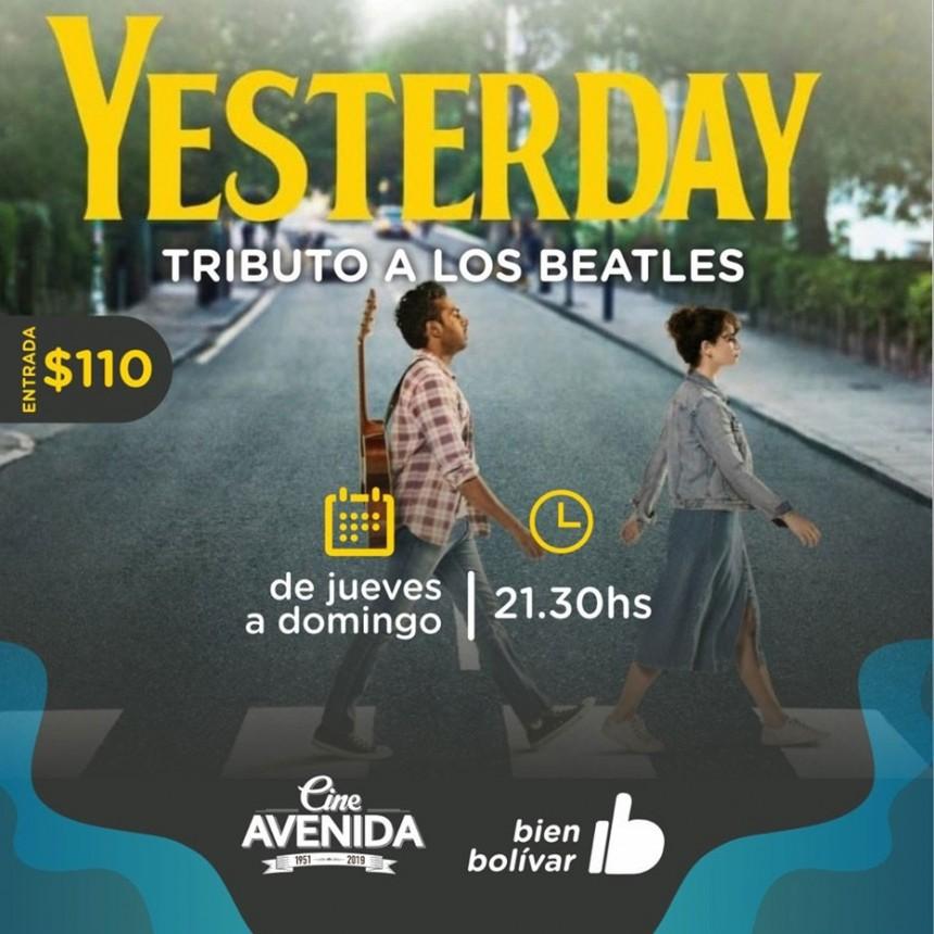 Yesterday, Tributo a Los Beatles; llega al Cine Avenida