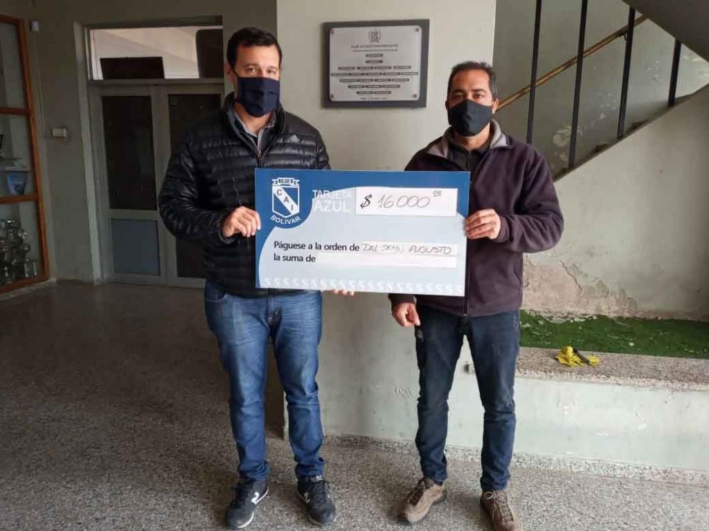 Volvieron los sorteos a la Tarjeta Azul de Club Independiente