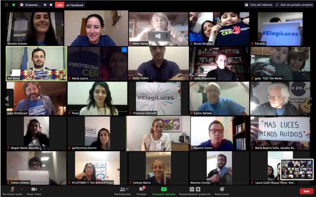 La Dirección de Discapacidad participó del encuentro virtual 'Más Luces, Menos Ruido'