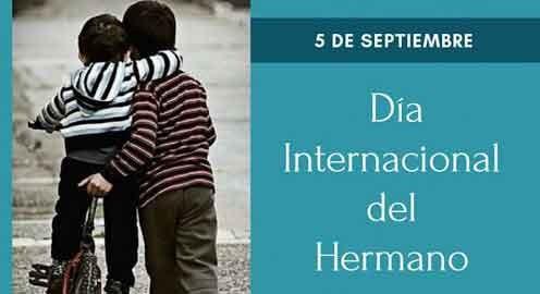 Día Mundial del Hermano