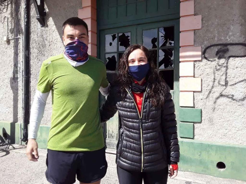 Castelli y Cordero los grandes ganadores de la maratón virtual Juan Carlos Bellomo