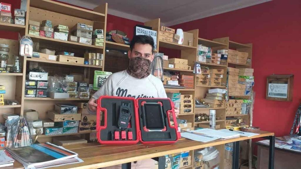 Brian Nabaes; 'Nos seguimos equipando día a día para poder ofrecerle a la gente todo lo que necesita'