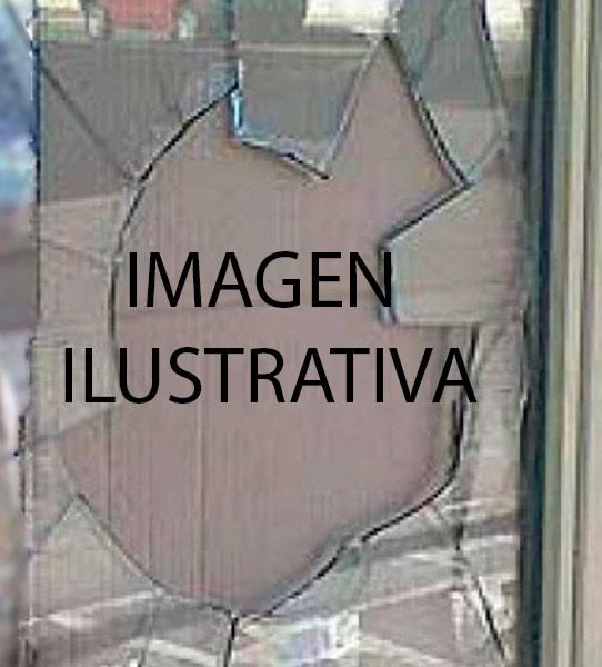 Robaron en una quinta y dañaron una vidriera