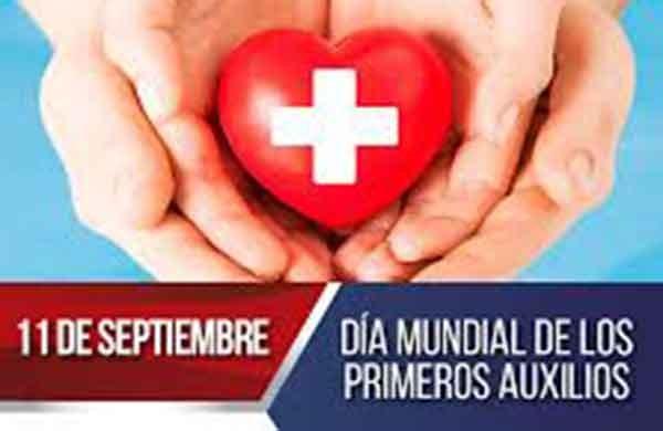 Día Mundial de los Primeros Auxilios