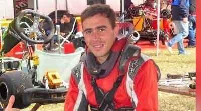 Federico Díaz; 'El karting que me entregan esta para ganar, solo tengo que hacer las cosas bien'
