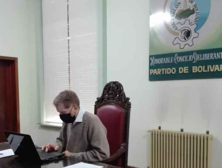 Luis María Mariano; 'Gracias al compromiso de todos los concejales el HCD siguió trabajando a pesar de la situación sanitaria que estamos transitando'
