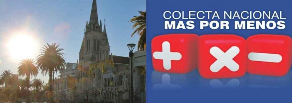 La Parroquia San Carlos Borromeo invita a la comunidad a sumarse a la Colecta Nacional Más por Menos