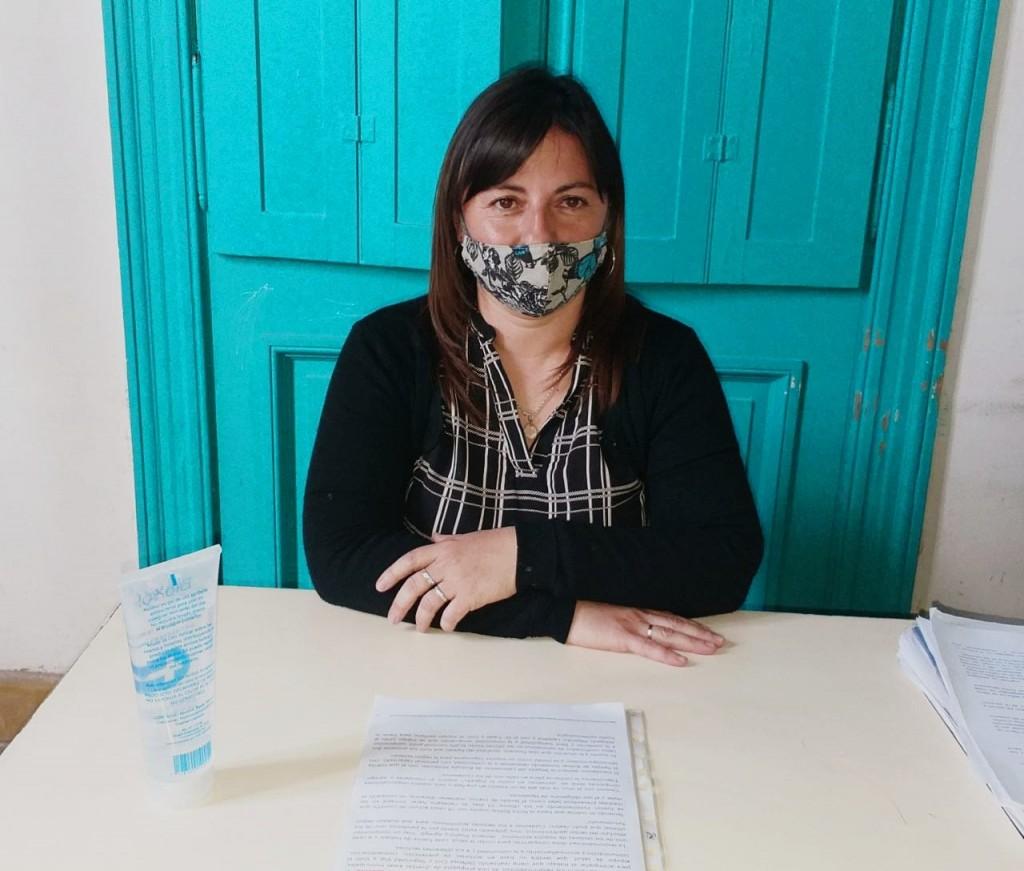 """Lorena Gallego: """"Tenemos a cargo el trabajo territorial del programa Compartiendo Responsabilidades"""""""