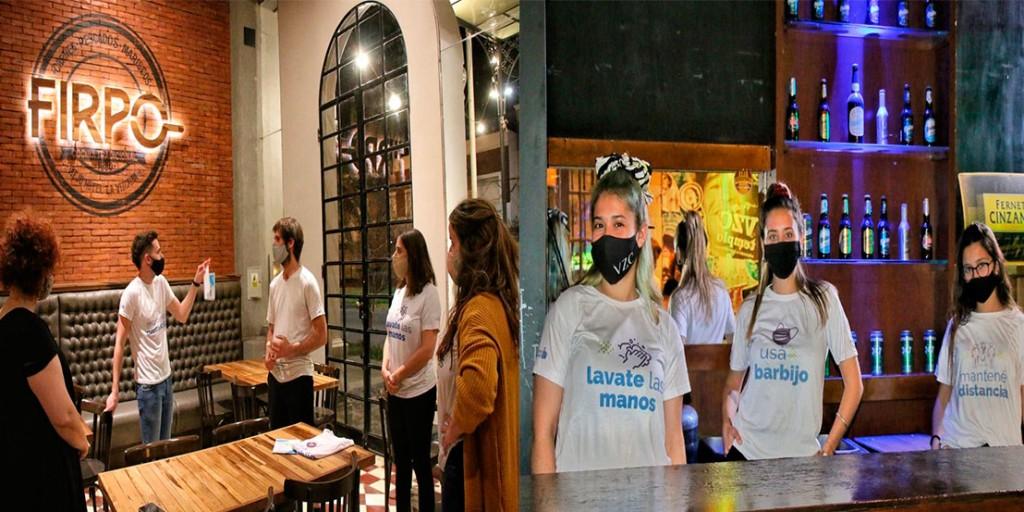 El programa 'Compartimos Responsabilidad' comenzó en los barrios y espacios gastronómicos de Bolívar