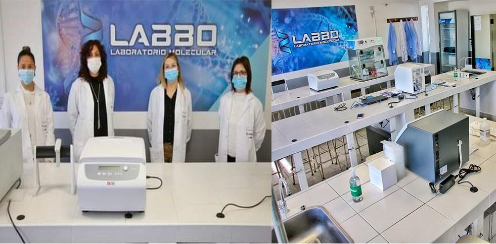 Laboratolio de Biología Molecular: Con entusiasmo y convicción, ya se analizaron más de mil hisopados