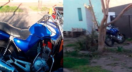 Un joven motociclista fue hospitalizado a raíz de un accidente este domingo por la mañana