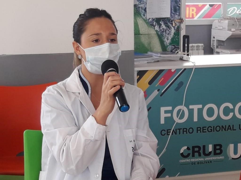 """Rocío Larreche: """"La biología Molecular es un campo muy exigente que requiere estar actualizado permanentemente"""""""