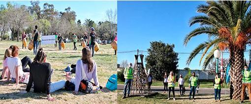 Día de la primavera: El Municipio realizó acciones en los espacios públicos abiertos