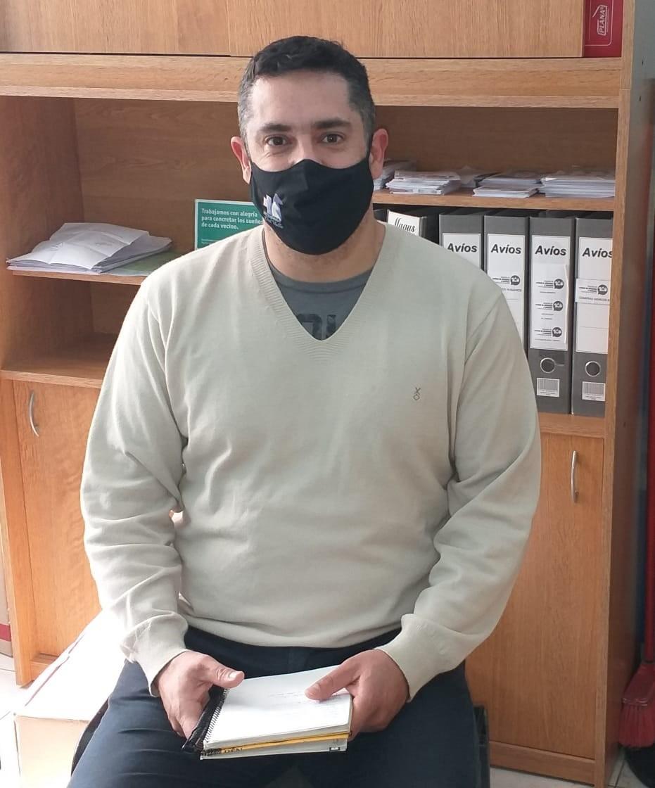 """Enzo Solondueta: """"Viene un equipo del Ministerio de Salud a fumigar, por eso estamos informando"""""""