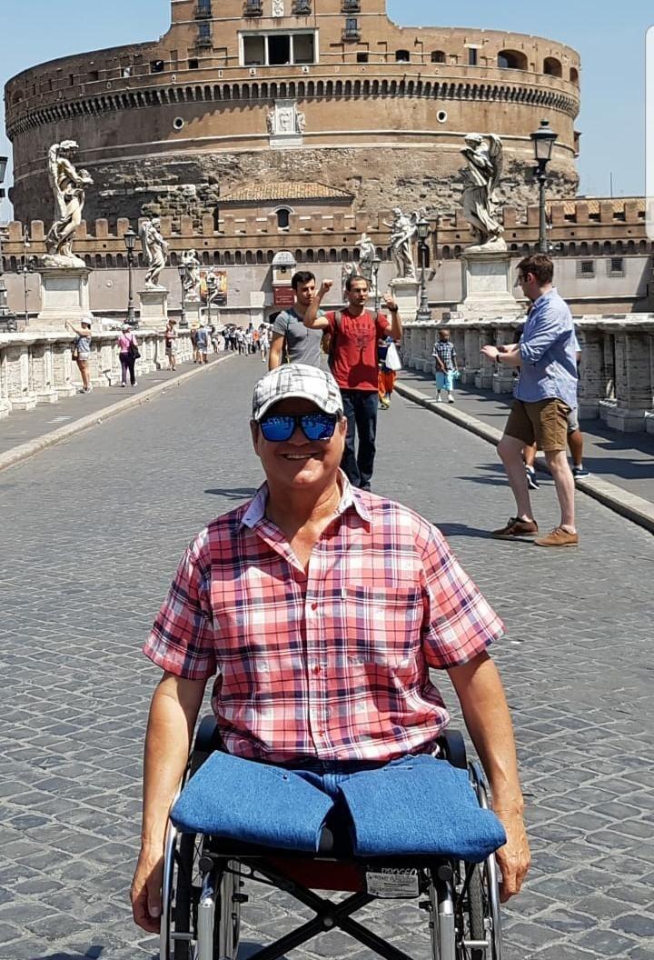 """Marcelo Berreterreix: """"La vida me puso a prueba y me di cuenta que podía desarrollarme a pesar de mi accidente"""""""