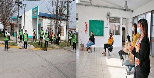 Cpmpartiendo Responsabilidad: Desarrollo Social y Educación Municipal se sumaron a la campaña preventiva Dengue y COVID19