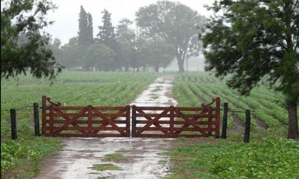 Copiosas lluvias en el centro de la provincia de Buenos Aires, Bolívar 105 milímetros y Urdampilleta 100