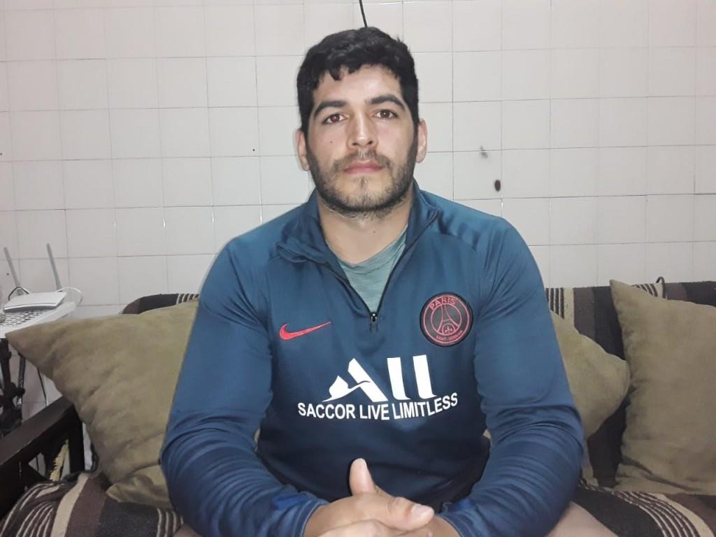 """Enzo Ocampo: """"Yo elijo mis vacaciones en Bolívar, es mi lugar donde disfruto de mi club Los Indios"""""""