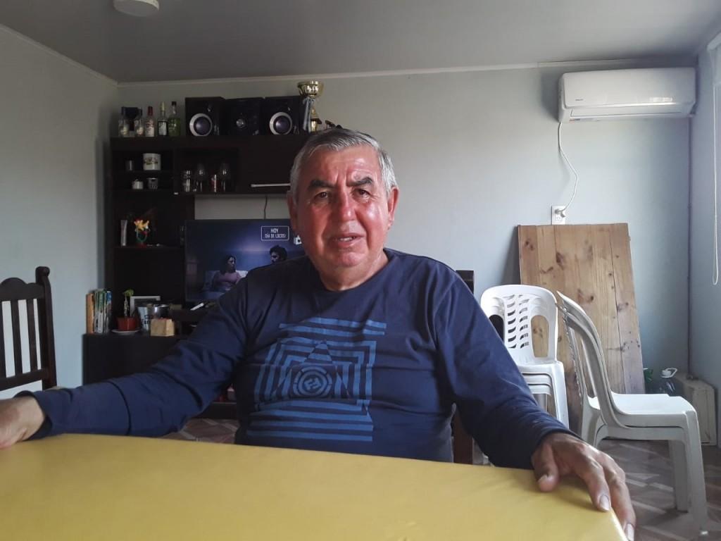 """Juan Carlos López: """"La V azulada es muy sagrada y muy respetada"""""""