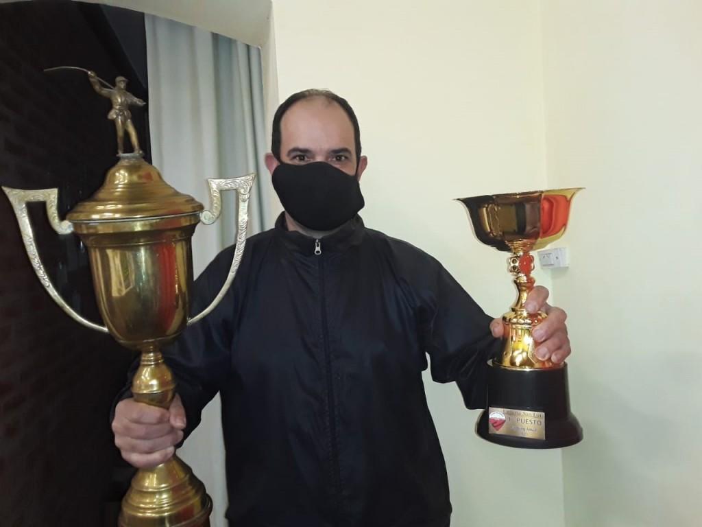 """Gustavo Tomanovich: """"He ganado algunos campeonatos, pero este no me lo esperaba"""""""