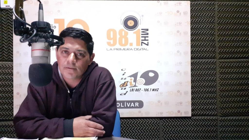 Roque Gómez; 'A mí me fue bien en la vida, siempre hice las cosas bien y quiero devolverle a la ciudad y a todos los vecinos lo que tengo hoy'