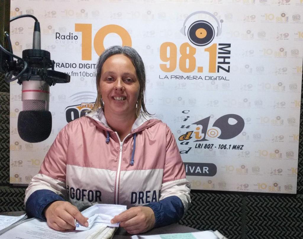 Verónica Ruiz; 'Es genial ver que Bolívar está vivo, activo, de pie y con ganas de participar'