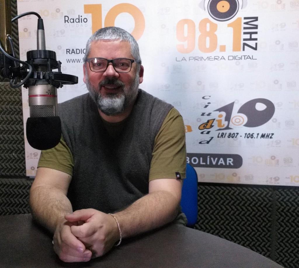 Carlos Teijón habló de su etapa de docente y auguró un crecimiento progresivo del público en el teatro
