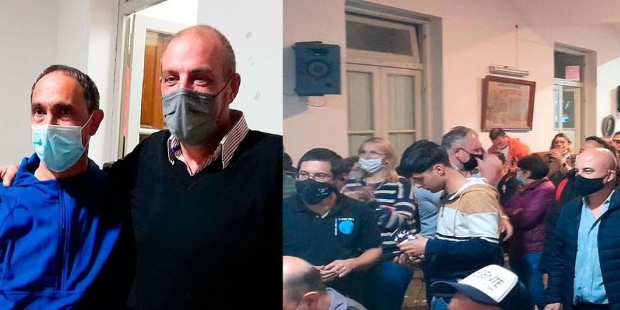 """Luciano Carballo Laveglia: """"Ni la humillación de la derrota, ni la soberbia del triunfo, tenemos que trabajar con humildad desde ahora hasta noviembre"""
