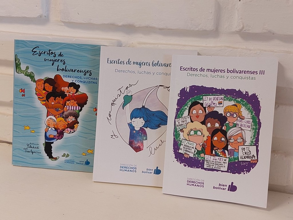 Este martes en el Cine Avenida será presentado el III libro de Mujeres Bolivarenses