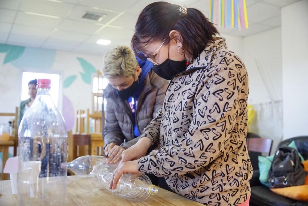 Comenzó el primer taller abierto a la comunidad en el Hogar de Protección Integral de Mujeres