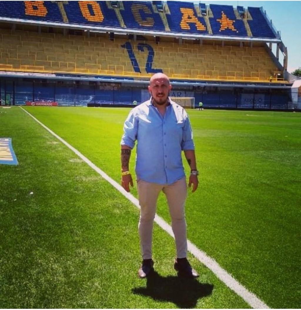 """Pablo Tello: """"Queremos invitar a todos los hinchas de Boca, este sábado, al Cine Avenida"""""""