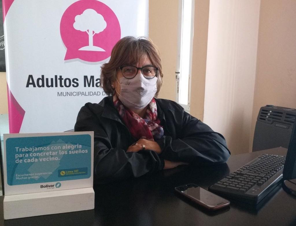Nancy Álvarez, Directora de Adultos Mayores, envió un cálido saludo a los jubilados a través de del programa Radioshow