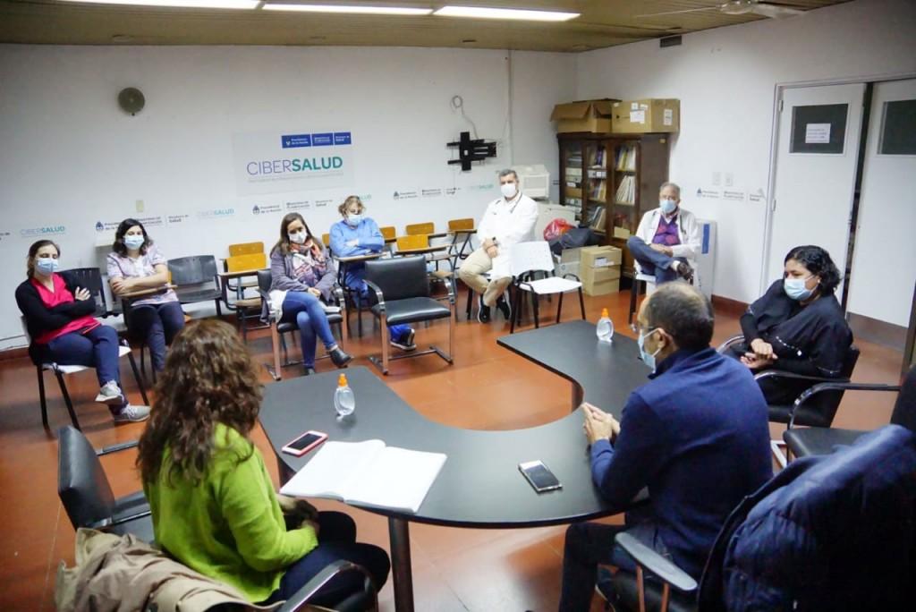 El Intendente Pisano se reunió con el comité sanitario