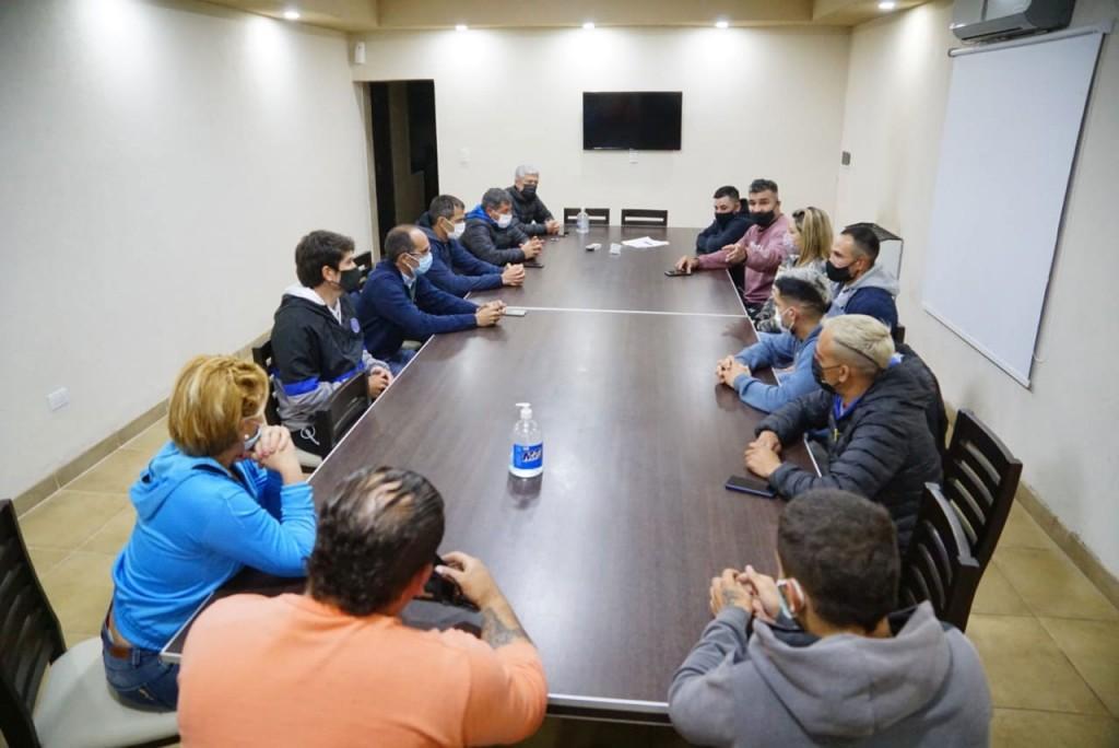 Bolívar Deportiva; Pisano y Bucca acompañan el regreso seguro de los eventos deportivos