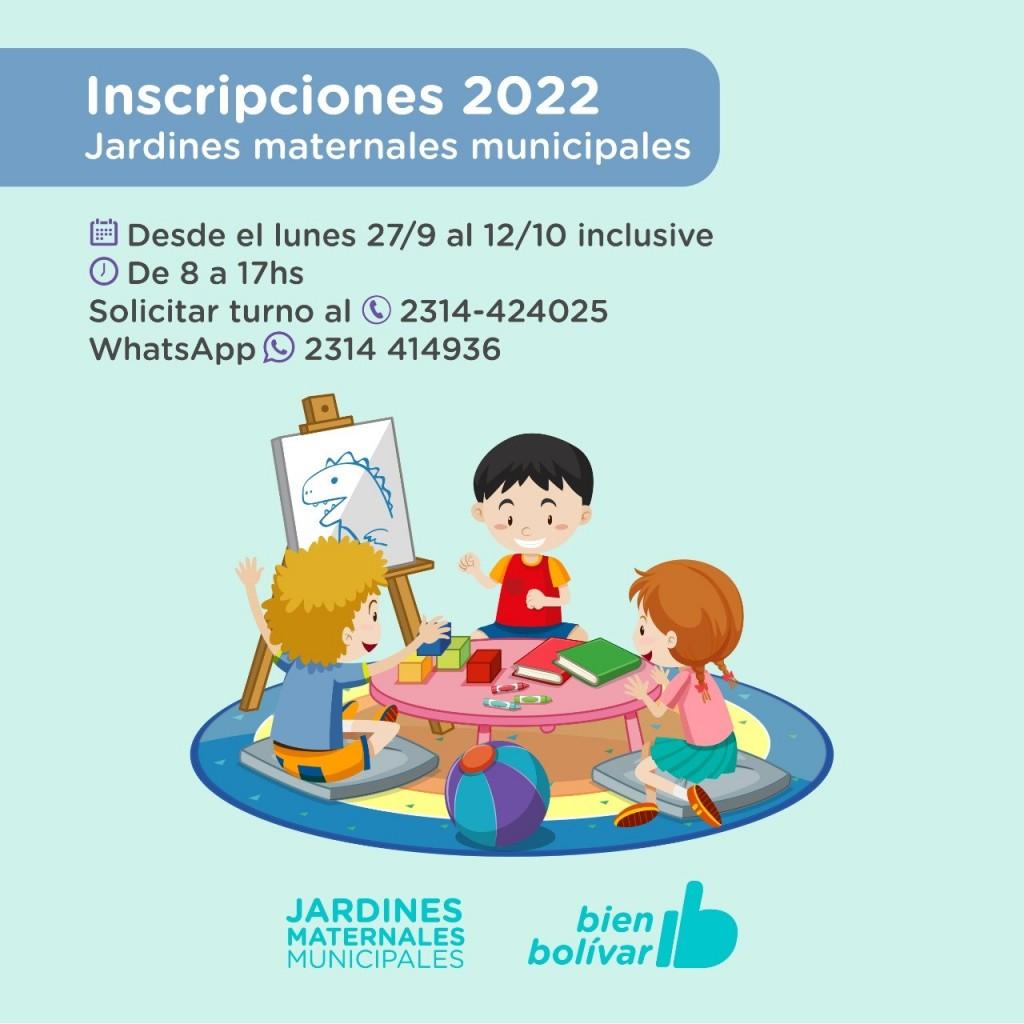 Desde este lunes se pueden inscribir los niños en los jardines maternales