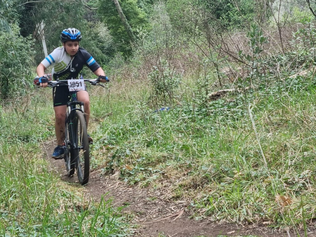 """Aquiles Maxuell Carballo: """"El ciclismo es el deporte que más me gusta"""""""