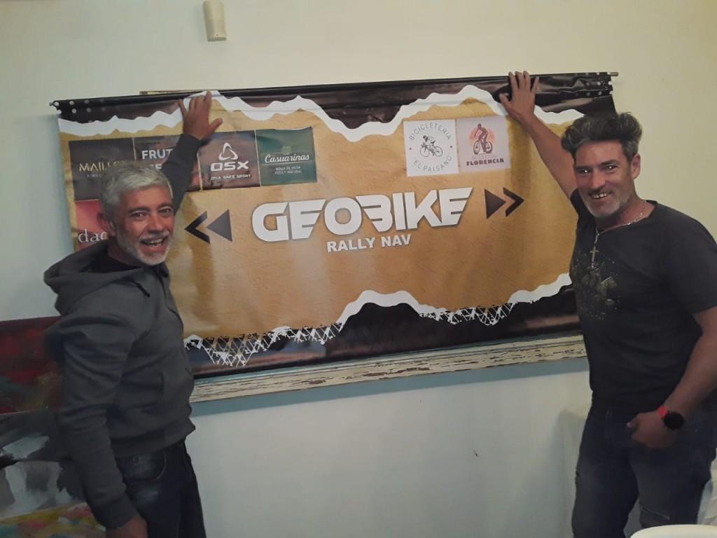 Se llevó a cabo la primera carrera de GEOBIKE, disciplina creada por bolivarenses