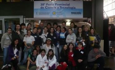 Alumnos del partido de Bolívar presentan proyectos científicos en Chapadmalal