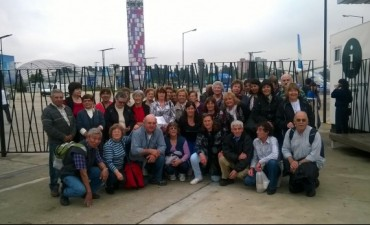 Adultos Mayores : Viajó a Tecnópolis por segunda vez