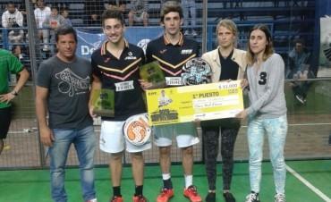 Padel : APP Tour 2014 de Bolívar tiene nuevos campeones