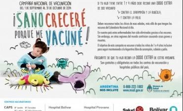 Últimos diez días de la Campaña Nacional de Vacunación