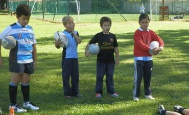 Rugby: Nuevo encuentro infantil